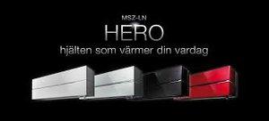Mitsubishi Hero LN25VGB Onyx Black